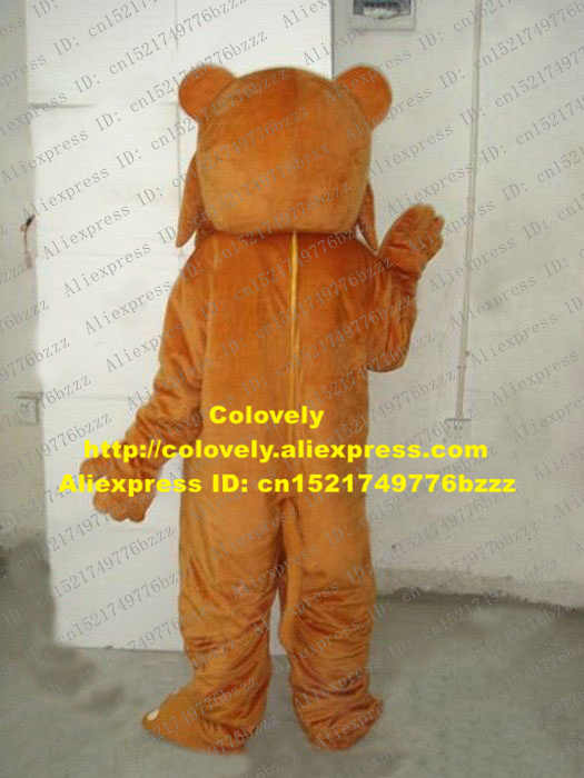Hidup Coklat Besar Wajah Teddy Bear Kostum Maskot Mascotte Dewasa dengan Kecil Hitam Mata Bulat Kecil Berwarna Merah Muda Mulut No 1950 kapal Gratis
