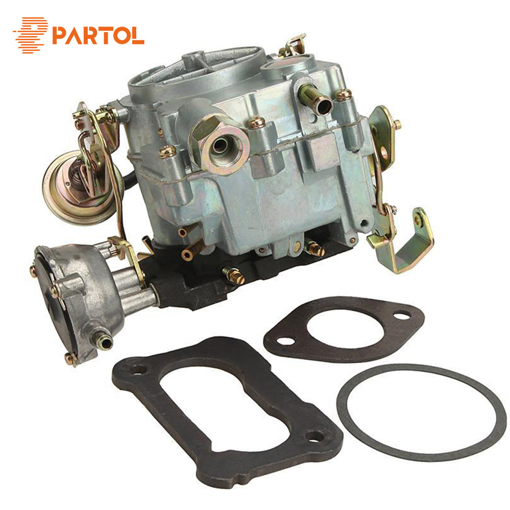 Partol Car Engine Carburetor Carb for Chevrolet Engine Models 350/5.7L 1970-1980 400/6.6L 1970-1975 Zinc Alloy Auto Carburetor black throttle base cover carburetor for honda trx350 atv carburetor trx 350 rancher 350es fe fmte tm carb 2000 2006