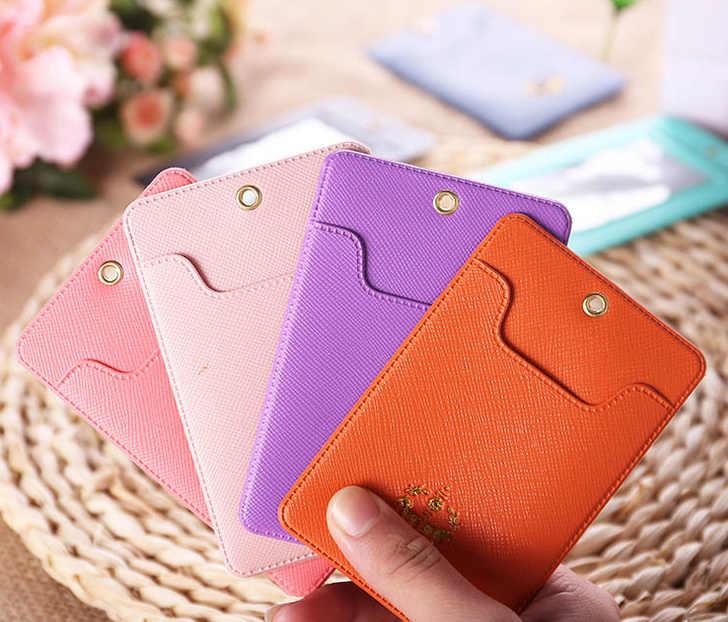 Kawaii 7 цветов на выбор-маленькая пони карамельных цветов PU 11*6,5 см визитница ПВХ ID сумка-чехол; автобусные кошельки для карточек чехол