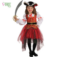 NEW Halloween Girls Dress Cosplay Assassin Costumes Kids Party Clothing Children S Movie Cosplay Fantasias Kids