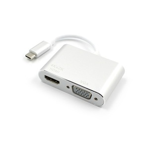 Image 4 - タイプ c hdmi/vga オーディオビデオケーブルのコンバーターへのラップトップコンピュータ 2 で 1 usb 3.0 USB2.0 hdmi アダプタ 4 18k hd 1080 p