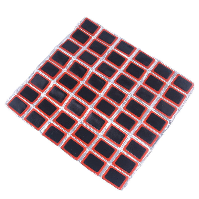 Deemount 48Pcs/Set 35*25mm Bicycle Tire Puncture Repair Patch Bike Inner Tube Prick Service Tool Kits Tyre Rubber Pierce Pad