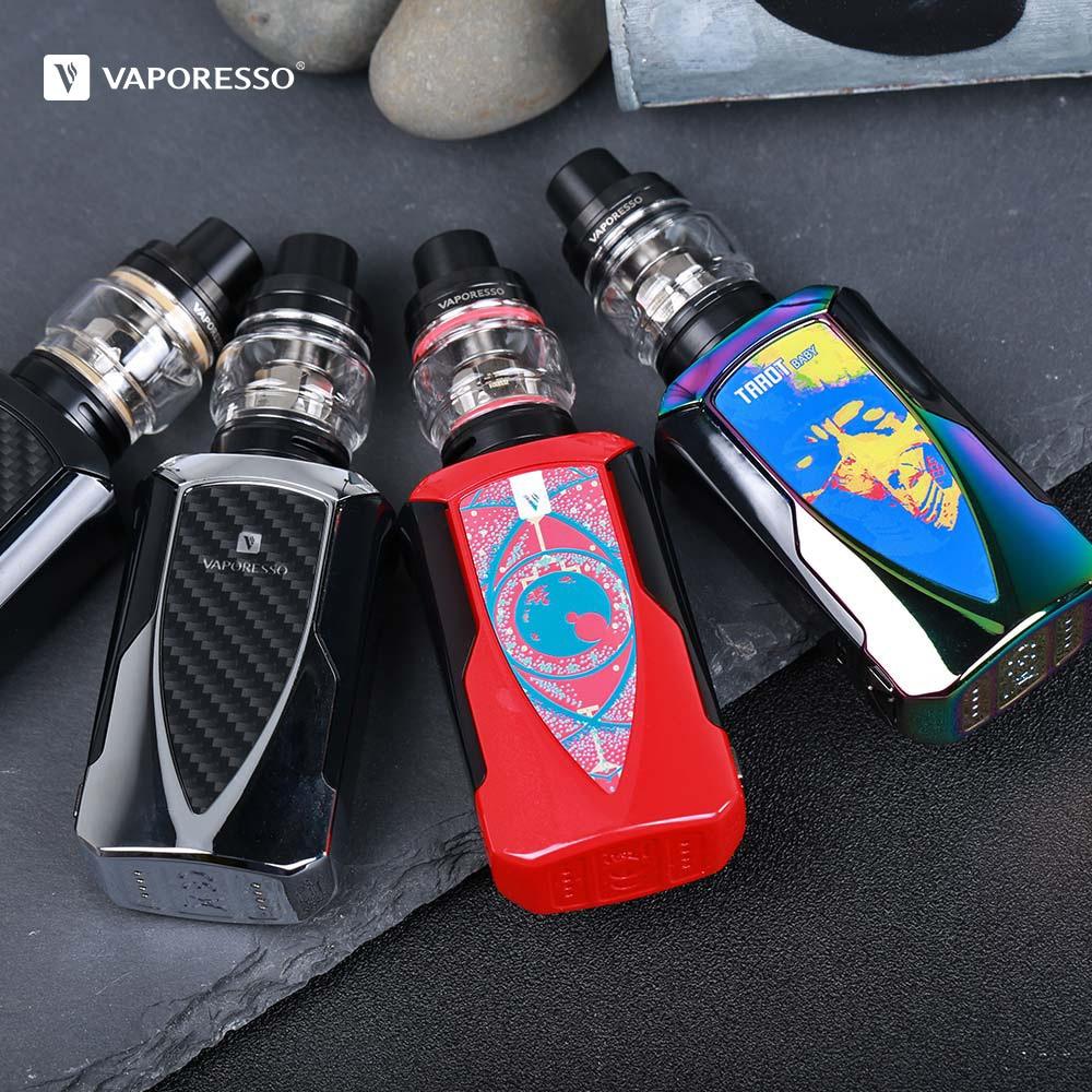 Original Vaporesso Tarot Baby Kit Electronic Cigarette With 2500mah Mod 2ml NRG SE Tank 0 002s