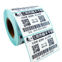 TOP Direct Thermal Labels 80MM X50MM 700 Labels Zebra Shipping Label Usps