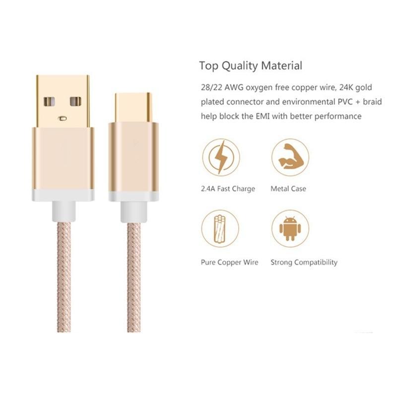 Câble usb Câble de charge Câble de données Câble plat pour zte Blade s6 plus