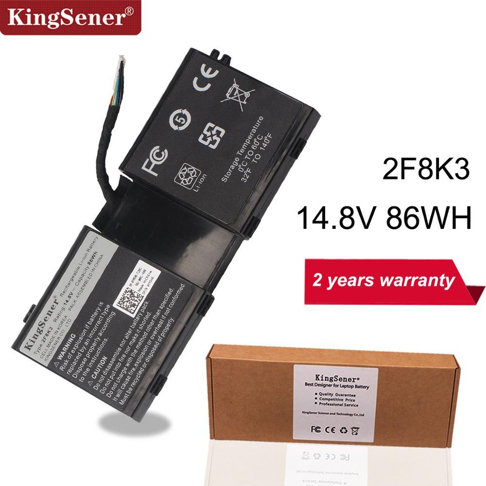 KingSener Korea Cell 2F8K3 Laptop Battery for DELL Alienware 17 18 M17X R5 M18X R1 2F8K3 0KJ2PX KJ2PX G33TT 14.8V 86WH