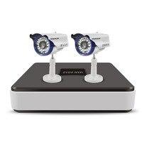 Vstarcam 4CH 720P NVR Security Camera System 2PCS Outdoor IP Camera CCTV Surveillance Kit 1 NVR 4CH+ 2PCS C7815WIP