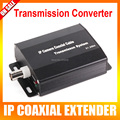 RJ45 BNC HD 1080P IP Network Coaxial Cable Video Transmission Extender Converter For CCTV System