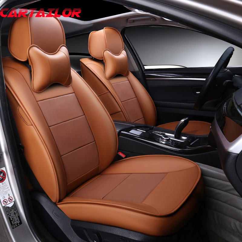 Peachy Us 311 88 31 Off Cartailor Black Leather Cars Seat Covers For Hyundai Tucson Car Seat Cover Cowhide Custom Fit Seats Protector Accessories Sets In Cjindustries Chair Design For Home Cjindustriesco