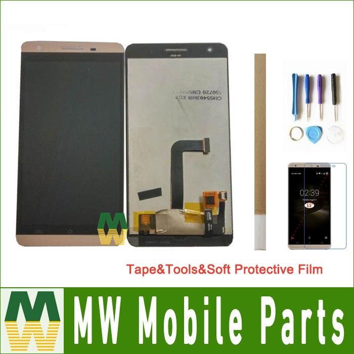1 шт./лот для Cubot X15 ЖК дисплей + сенсорный экран сборки планшета запасная часть Черное золото цвет с комплект