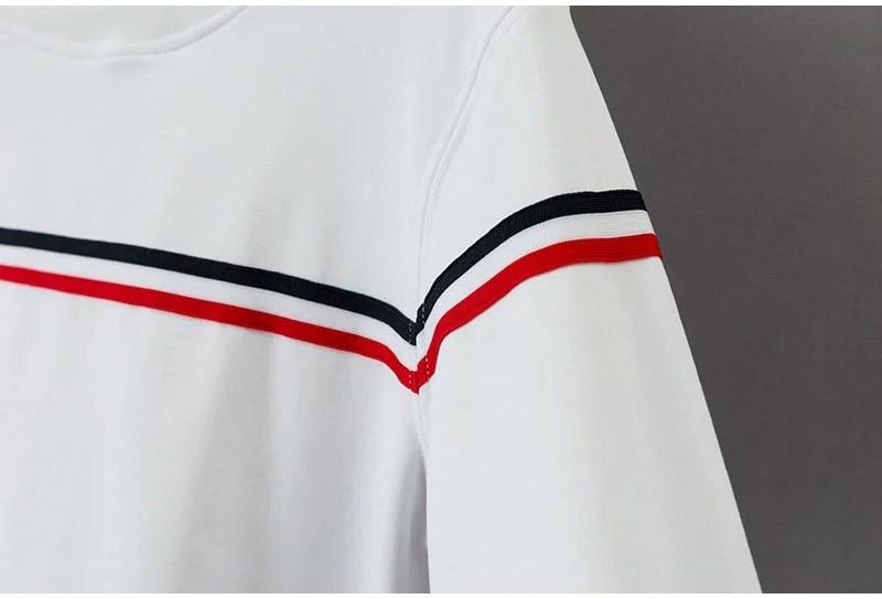 HTB1BVv6SXXXXXXXXFXXq6xXFXXXn - Long Sleeve Striped Sweatshirts Kpop PTC 72