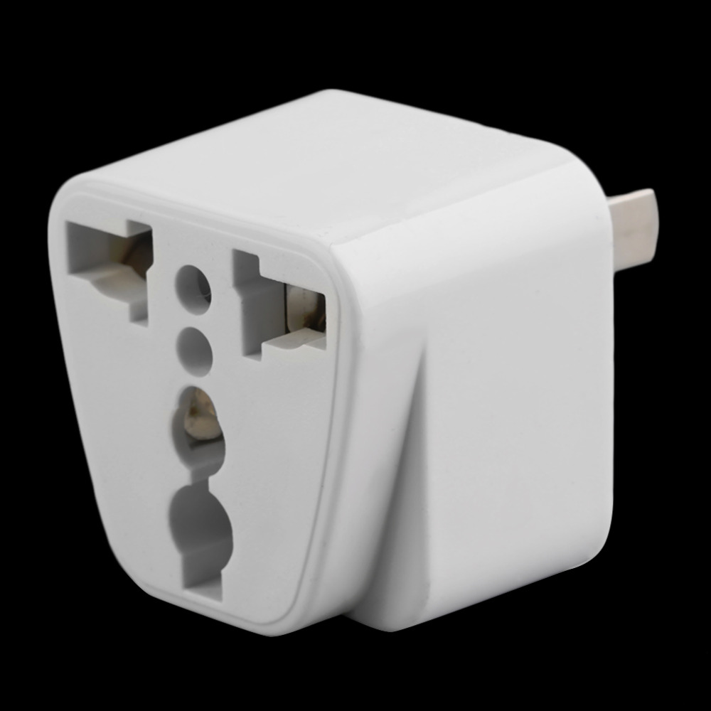 Us to uk ac power plug white black travel wall adapter plug converter - Hot 2 Pin Ac American Usa Power Plug Adapter Travel Converter Australia Uk Usa Eu