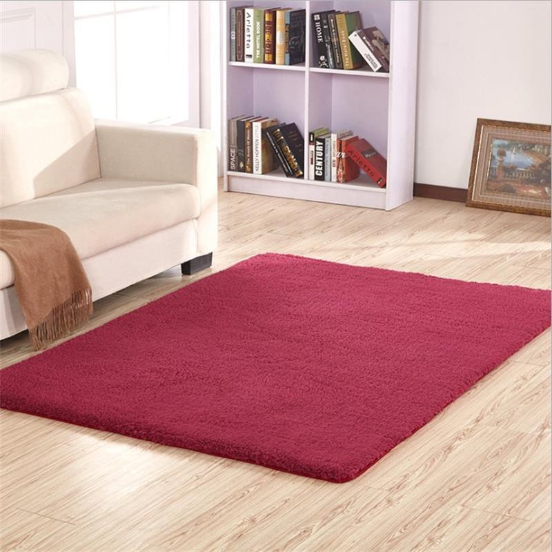 Thick Antarctic Velvet Washable Carpets For Living Room Soft Bedroom Bedside Rugs And Carpet Floor Mat