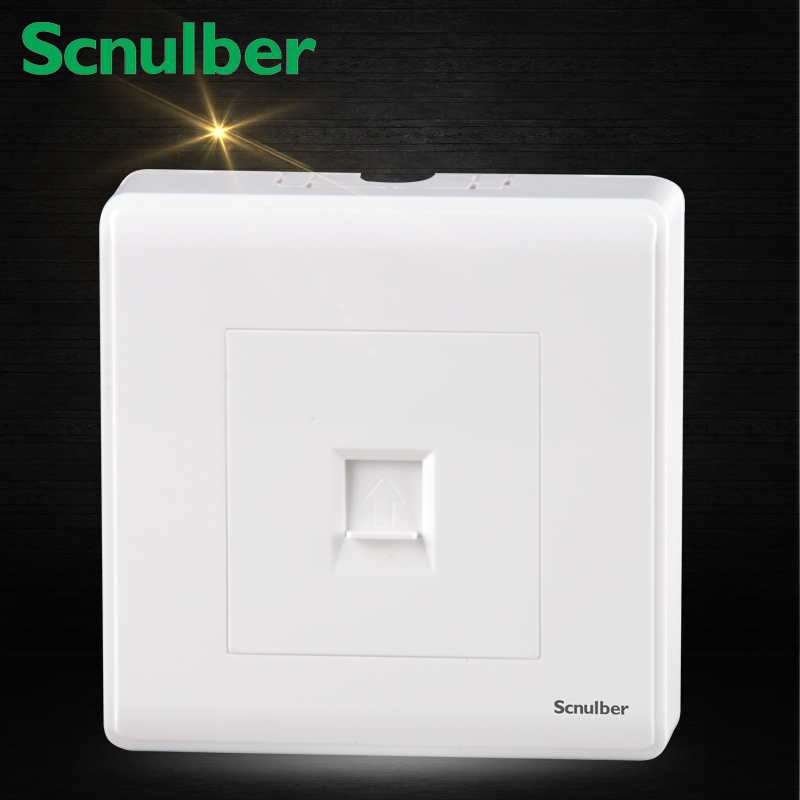 86mm white surface mounted RJ11 telephone wall switch Socket Outlet new a8 3 three frame a8 function of supporting frame 86 outlet switch combination surface box