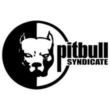 CS-163#13*20cm Pit Bull Syndicate Sticker funny car sticker and decal silver/black vinyl auto stickers