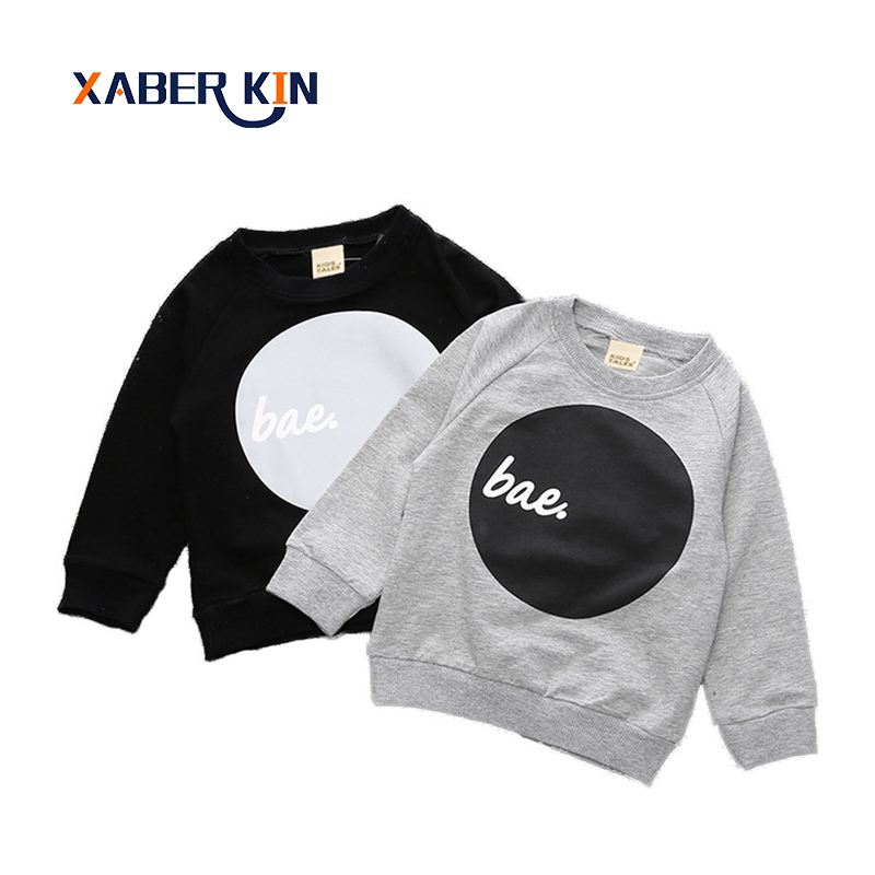 New 2017 Baby Boys Hoodies Print Letter Spring Long Sleeve Baby Boys Sweatshirt Girl Hoodies Clothes Casual Hoody For Baby CC741
