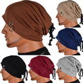Bluelans Hombres Crochet Slouch de Esquí Sombrero de Punto Caliente del Invierno Unisex Casquillo de Las Mujeres de Gran Tamaño de la Gorrita Tejida