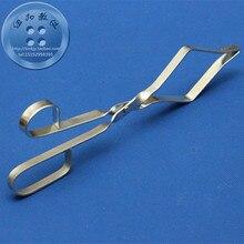 Химический инструмент beaker держатель Обучающие инструменты высокотемпературный Железный зажим 26 см длина 20 см Открытие