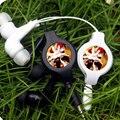 Anime Naruto sabaku no Gaara Portátil Retrátil Fone de ouvido Estéreo Com Fio Fones de Ouvido Fones De Ouvido Música Headset Para Smartphone PC