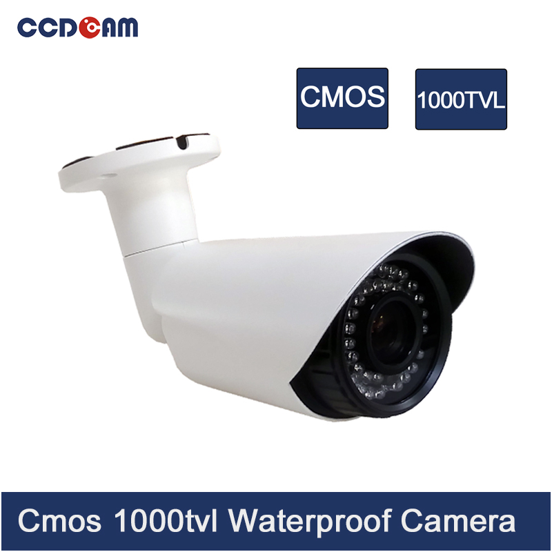 CCDCAM Analog 1000 TVL CMOS Outdoor CCTV Camera system product ccdcam license car number plate recognition cctv sony 700 tvl vehicle safety camera analog ccd traffic camera