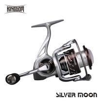 Королевство рыболовные спиннинговые Катушки Соленой Воды 10   1 BB 5,2: 1 226g 295g высокоскоростная карбоновая Рыболовная катушка карп модель серебряная луна