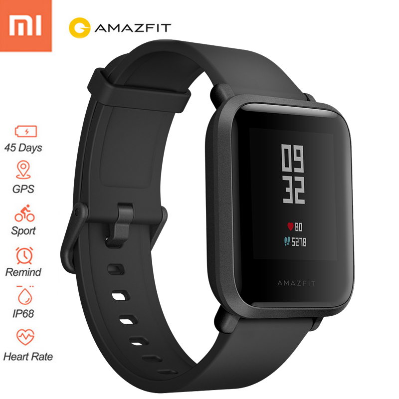 Original Xiaomi Huami Amazfit Bip BIT PACE Lite Youth Verison Smart watch GPS Sports Smartwatch Heart Rate Fit Tracker Man Watch