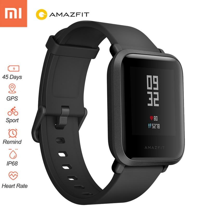 Eredeti Xiaomi Huami Amazfit Bip Bit Pace Lite Ifjúsági Verison Smart Watch GPS Sport Smartwatch pulzusmérő Tracker Man Watch