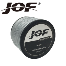 JOF 1000M 10LB – 100LB PE Braided Fishing Line 4Strands Strong Multifilament Fishing Line Carp Fishing Sea Fish Wire