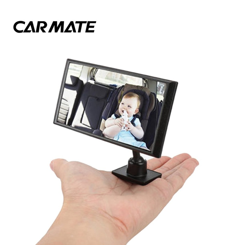 CARMATE CZ409 Car Rearview Mirror for Ensuring Babies on Safety Seat Observation Mirror Inside Auxiliary Mirror