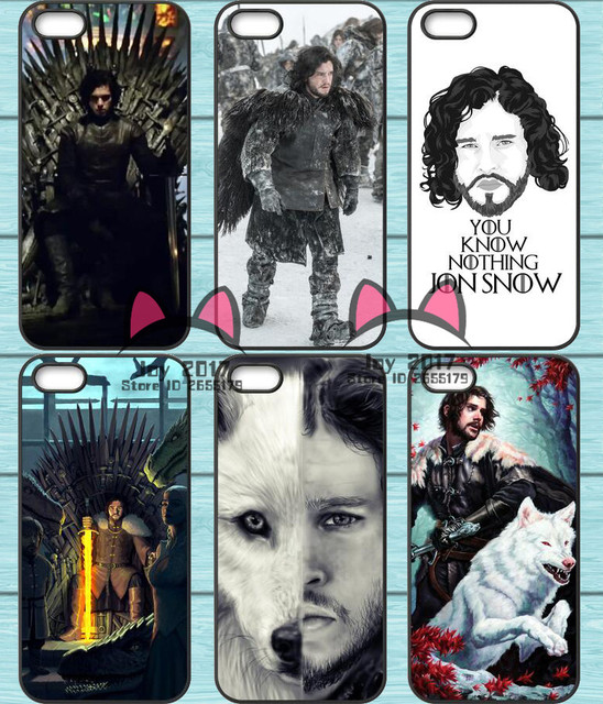 Jon Snow Game of Thrones TPU Phone Case for iPhone