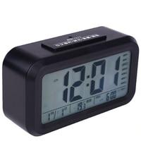Sunrise Thermometer Calendar Alarm Clock Lcd Table Electronic Talking Night Nixie Electronic Desk Digital Clock Wekker 40N0087