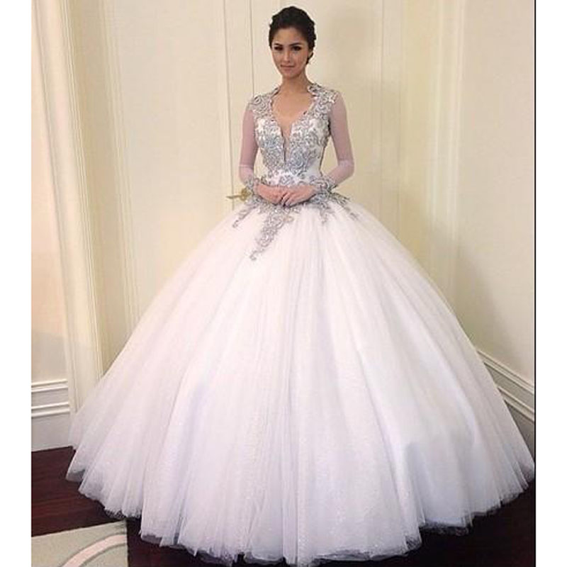 Hollywood ball gowns reviews online shopping hollywood for Sparkly wedding dresses with sleeves