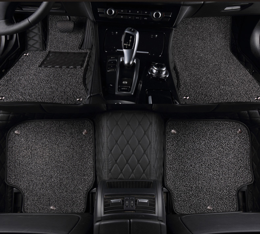 kalaisike Custom car floor mats for Audi all models q7 q5 a6 c7 a5 q3 tt cc a3 8v a4 b7 b8 b9 car styling car accessories ацетиленовый резак донмет р1 142а 6 6 св000000625