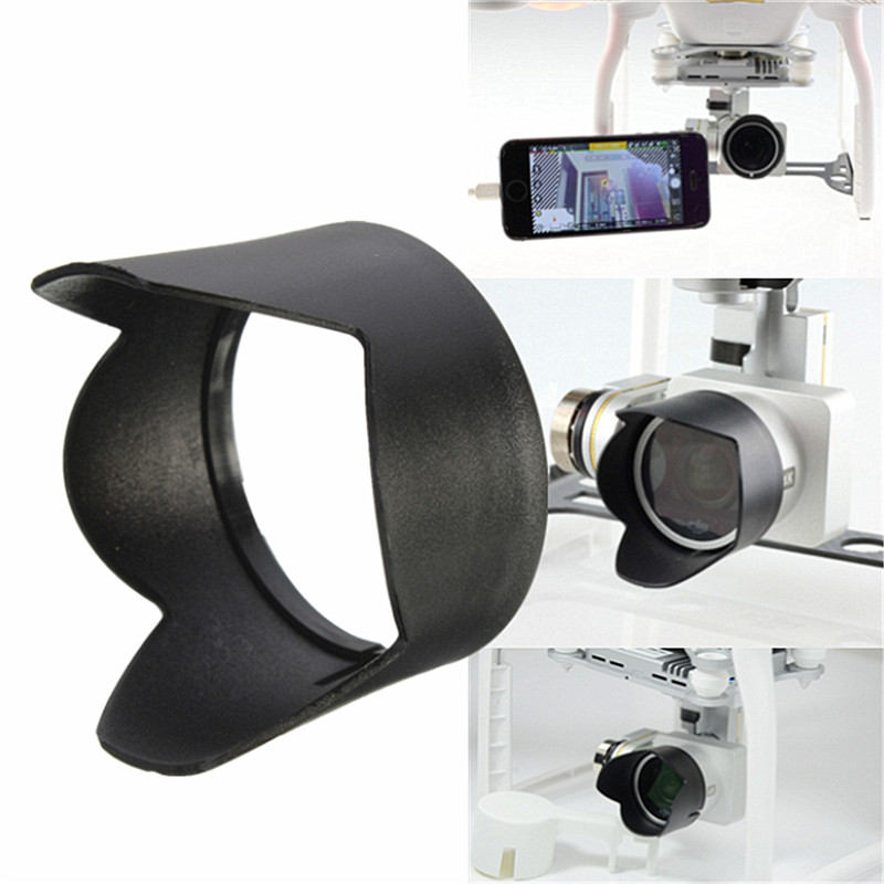 Camera Lens Cover Cap Sun Hood /& Gimbal Guard F DJI Phantom 3 PRO /& Advanced FPV