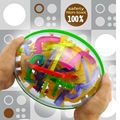 3D Magic Maze Ball 299 steps Closed Level Intellect Ball,children education intelligence toy christmas gift IQ Balance toys