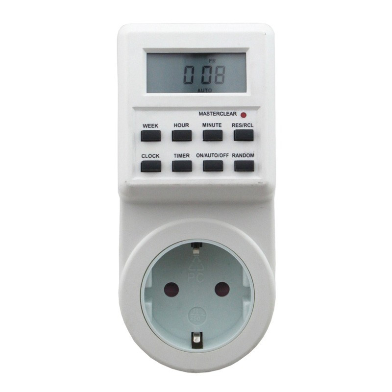 Tools Flight Tracker 5 Pcs/lot Digital Timer 1 Min-7 Days Digital Lcd Electronic Plug-in Programmable Timer Switch Battery Is Built-in Lustrous Surface
