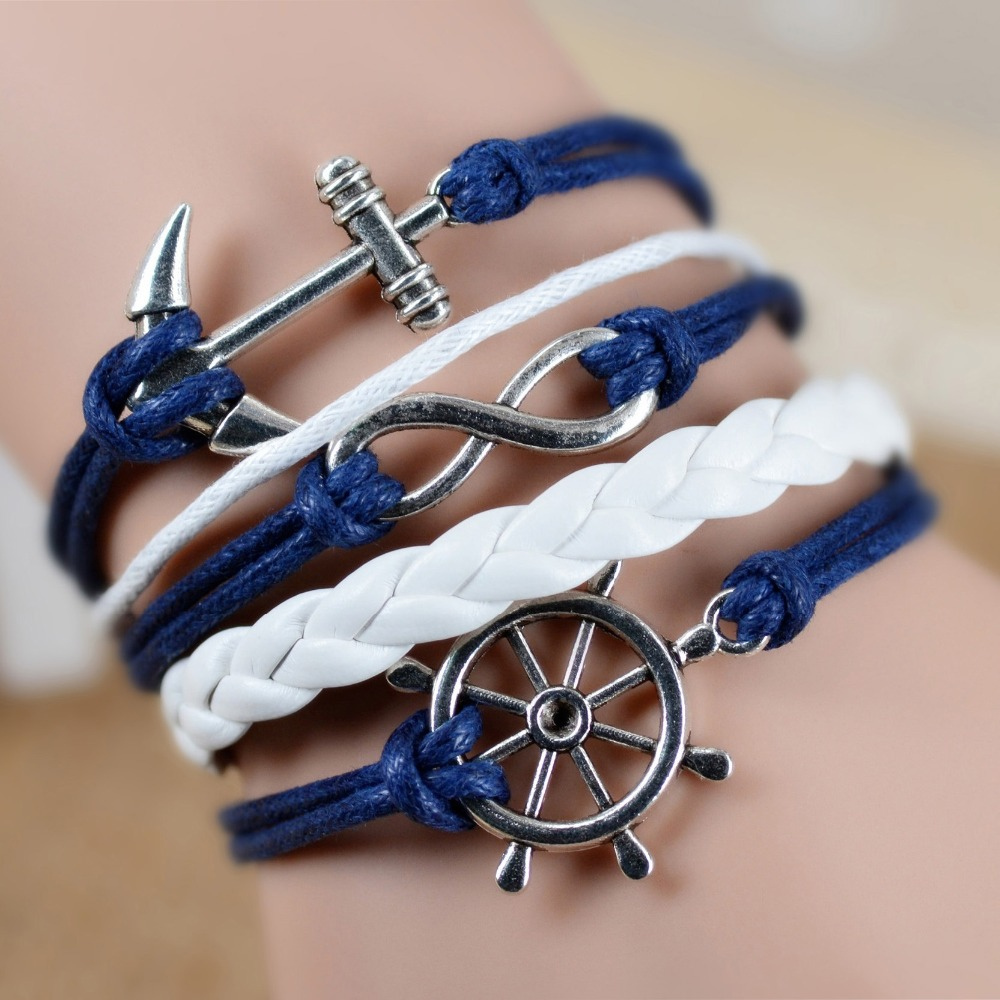 Fashion Vintage Infinity Anchor...