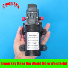 5.5L/Min. 24V DC 80W high pressure self priming water pump diaphragm