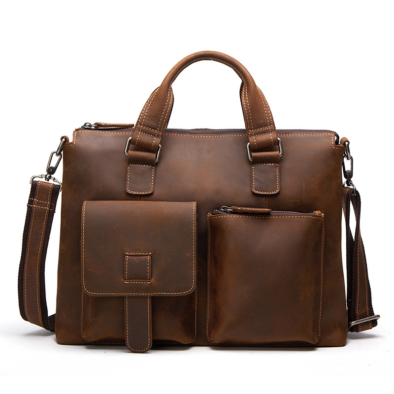 40x32CM New Casual Genuine Leather Male Bag  Business Handbag Bag Shoulder Messenger Bags   Briefcase A423540x32CM New Casual Genuine Leather Male Bag  Business Handbag Bag Shoulder Messenger Bags   Briefcase A4235