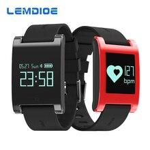 Lemdoie DM68 водонепроницаемый смарт-Браслет фитнес-трекер Приборы для измерения артериального давления пульсометр вызовы сообщения часы для телефона