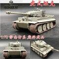 1: 72 tanques modelo de tanque Do Tigre Alemão trompetista terminou Cinza Mundo Alemanha 36604 brinquedo