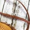 Bali Island Handmade Rattan Bow Circular Straw Woven 4