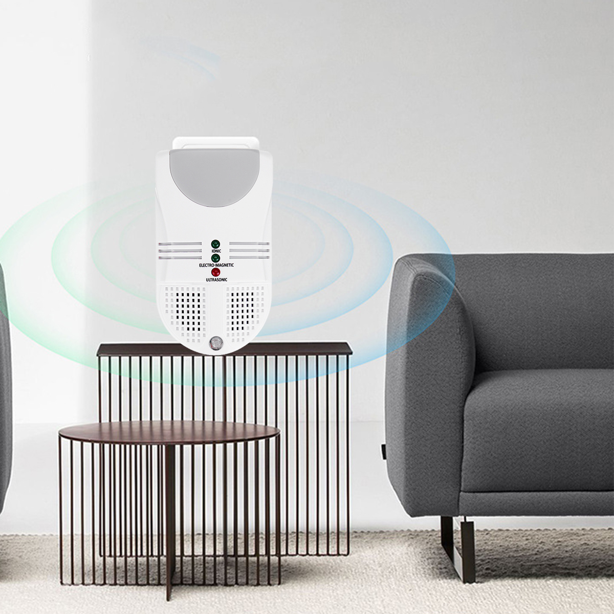 Ultrasonic Mosquito Killer Lamp LED Night Light Electronic Mouse Rat Repeller Pest Insect Fly Bug Reject Control Trap Zapper