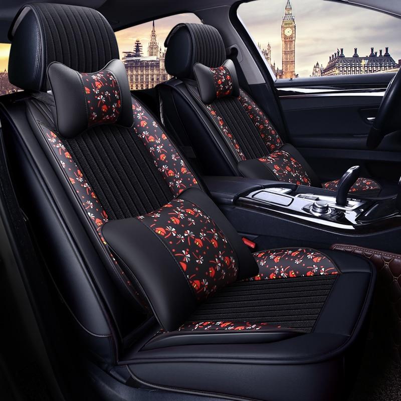 Quattro Stagioni Generale Seggiolino Auto Cuscini Auto pad Car Styling Copertura di Sede Dell'automobile Per Hyundai i30 ix35 ix25 Elantra Santa fe Sonata