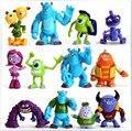 12 Pçs/set Disney Brinquedos para Crianças Monstros Universidade Figura de Ação de Plástico Brinquedos Bonecas Brinquedos Dos Meninos Presentes de Natal Aniversário Tq0157