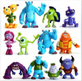 12 Pcs/Set Disney Toys for Kids Monsters University Plastic Action Figure Toys Dolls Boys Toys Birthday Christmas Gifts Tq0157