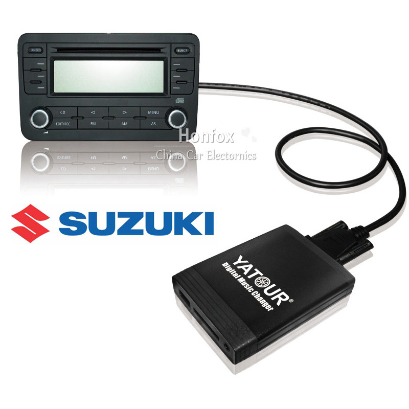 Yatour car digital music changer For Fiat Sedici suzuki sx4 Grand Vitara Opel Agila YT-M06 USB MP3 SD AUX adapter CD Changer yatour digital music changer usb sd aux adapter yt m06 fits volvo s60 s40 car stereos mp3 interface emulator din connector