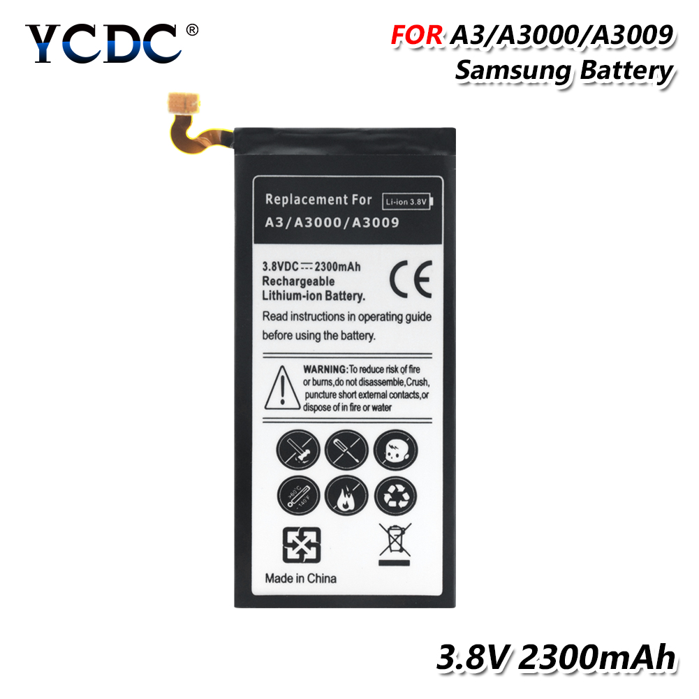 Replacement Battery For Samsung Galaxy A3 (2015) A300 A3009 A300H A300F A300G Phone Rechargeable Battery