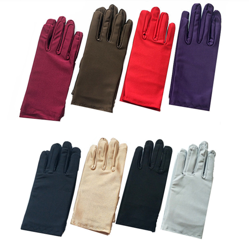Spandex Gloves Serving Waiters Gloves Concierge Butler