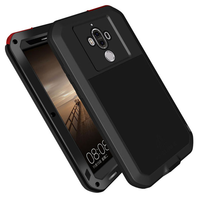 new products 82730 47d95 US $42.0 |For Huawei Mate 9 Armored Hybrid Cover Case Waterproof Case  Fundas Housing Water/Dirt/Shock/Rain Proof For Huawei Mate 9Pro Case-in  Fitted ...